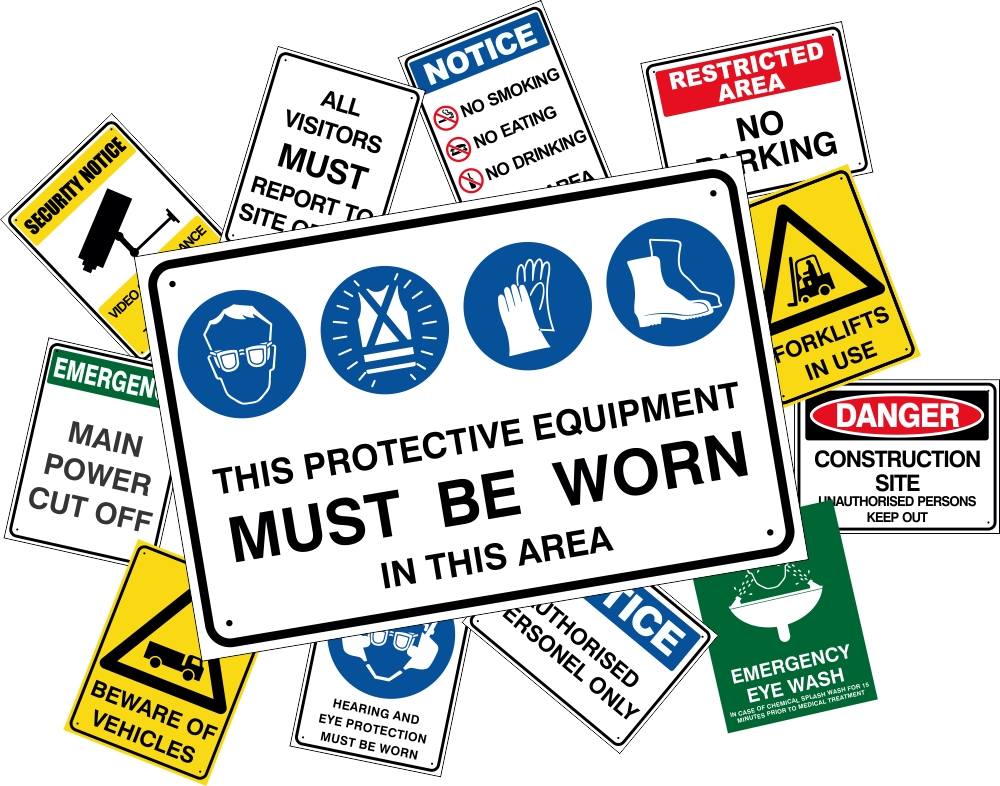 OzSigns. Information Workplace Safety Signs (AS1319-1994 ...